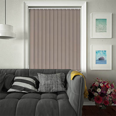Replacement Vertical Blind Slats Luxe Taupe Main