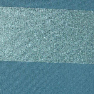 Made to Measure Spring Loaded Thermal Blackout Cordless Roller Blinds Metallic Stripe Jade Zoomed
