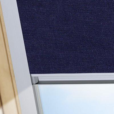 Blackout Blinds For Keylite Roof Skylight Windows Midnight Blue Frame One