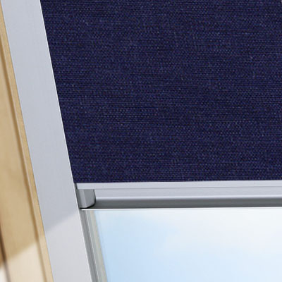 Blackout Blinds For VELUX Roof Skylight Windows Midnight Blue Frame One