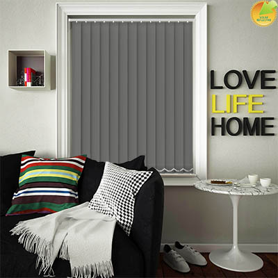 Made to Measure Solar Reflective Replacement Vertical Blind Slats Mirage Solar Grey Main
