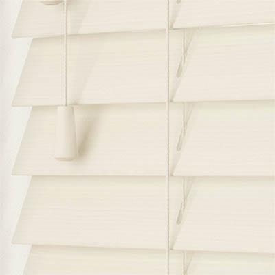 Mirage Wood Grain Faux Wood Wooden Venetian Blind Close Up