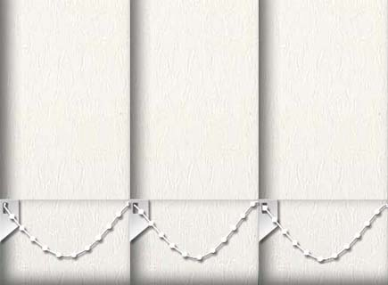 Made to Measure Vertical Blinds Montreal Cream 3 Slats