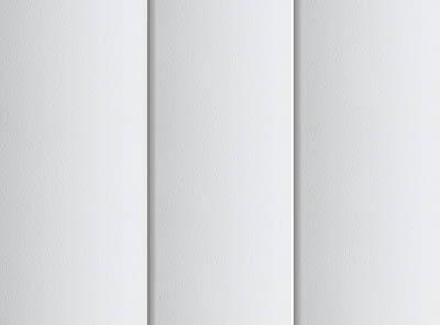 Nova Brilliant White Rigid PVC Vertical Blinds Close Up