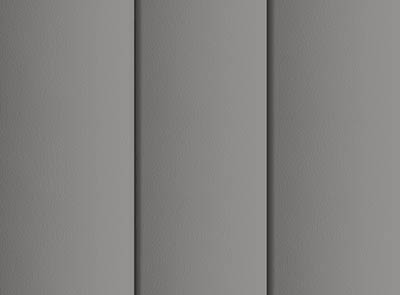 Nova Grey Rigid PVC Vertical Blinds Close Up