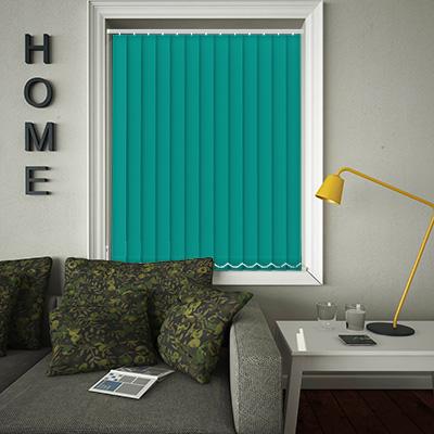 Replacement Vertical Blind Slats Origin Bright Turquoise Main