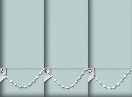 Made to Measure Vertical Blinds Origin Duck Egg 3 Slats