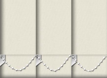 Made to Measure Vertical Blinds Origin Grey White 3 Slats