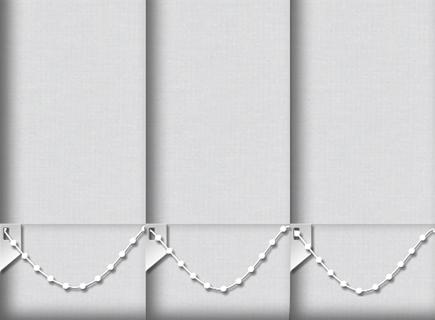 Made to Measure Vertical Blinds Origin Natural Grey 3 Slats
