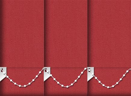 Made to Measure Vertical Blinds Origin Ruby 3 Slats