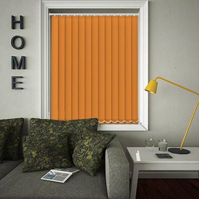 Replacement Vertical Blind Slats Origin Tango Orange Main