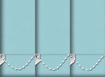 Made to Measure Vertical Blinds Origin Tiffany 3 Slats