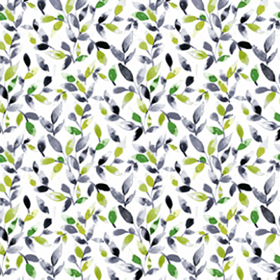 Made to Measure Waterproof Cordless Roller Blinds Petals Evergreen