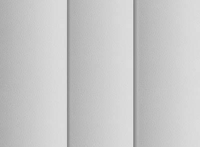 Pogo Chalk White Rigid PVC Vertical Blinds Close Up