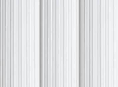 Pula Brilliant White Rigid PVC Vertical Blinds Close Up