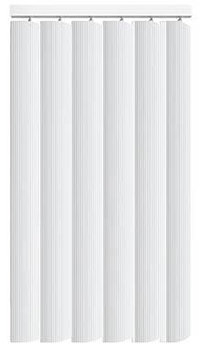 Pula Brilliant White Rigid PVC Vertical Blind Main Image