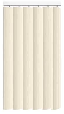 Pula Cream Rigid PVC Vertical Blind Main Image