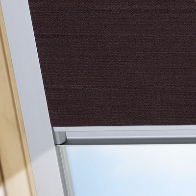 Blackout Blinds For Rooflite Roof Skylight Windows Rich Chestnut Frame One