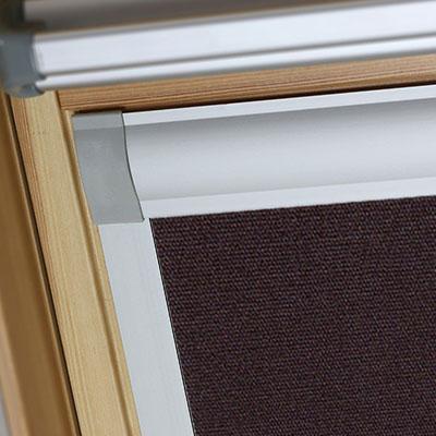 Blackout Blinds For Okpol Roof Skylight Windows Rich Chestnut Frame Two