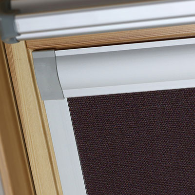 Blackout Blinds For Tyrem Roof Skylight Windows Rich Chestnut Frame Two