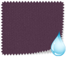 Made to Measure 100% Waterproof Roller Blinds Shower Safe Aubergine Thumbnail