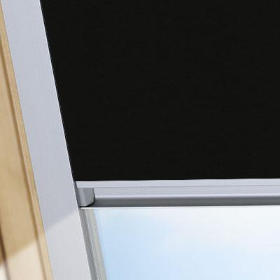 Waterproof Blackout Blinds For Rooflite Roof Skylight Windows Shower Safe Black Frame One