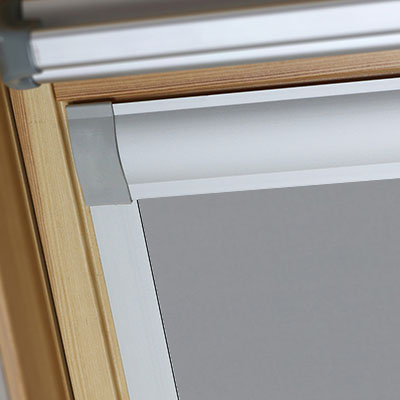 Waterproof Blackout Blinds For Balio Roof Skylight Windows Shower Safe Grey Frame Two