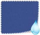 Made to Measure Waterproof Vertical Blinds Shower Safe Imperial Blue Thumbnail