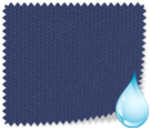 Made to Measure Waterproof Vertical Blinds Shower Safe Navy Thumbnail