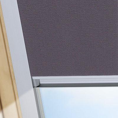 Blackout Blinds For Fakro Roof Skylight Windows Smoldering Charcoal Frame One