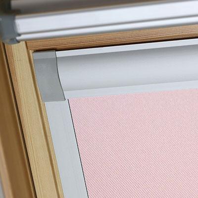 Blackout Blinds For Dakstra Roof Skylight Windows Sweet Rose Frame Two