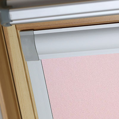 Blackout Blinds For VELUX Roof Skylight Windows Sweet Rose Frame Two