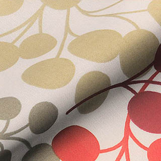 Made to Measure Roller Blinds Tutti Scarlet Zoom
