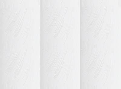 Varo White Rigid PVC Vertical Blinds Close Up