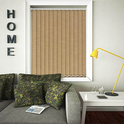 Replacement Vertical Blind Slats Weave Hessian Main
