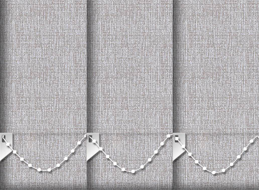 Weaver Taupe Vertical Blinds Detailed Main Image