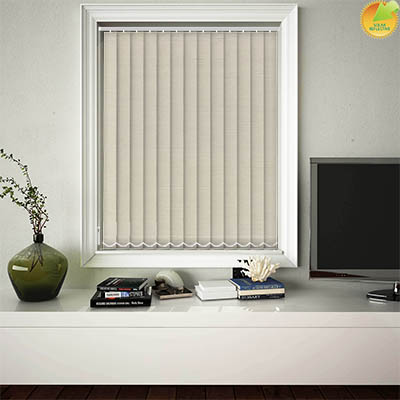 Made to Measure Solar Reflective Replacement Vertical Blind Slats Zia Solar Bamboo Main