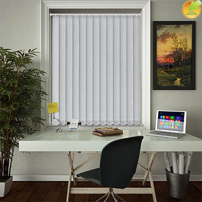 Made to Measure Solar Reflective Replacement Vertical Blind Slats Zia Solar Iris Main