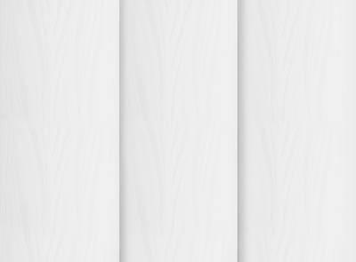 Zoe White Rigid PVC Vertical Blinds Close Up