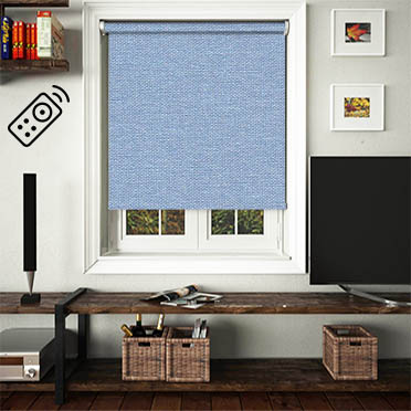 Asteroid Steel Motorised Roller Blind
