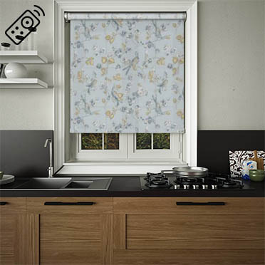 Aviary Luna Motorised Roller Blind