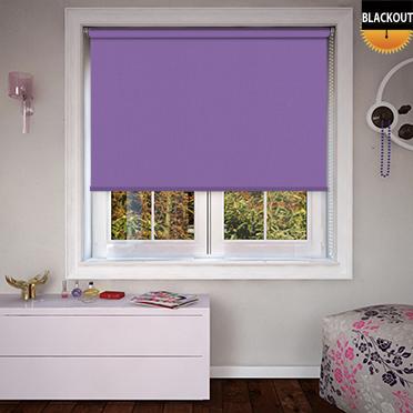 Bedtime Deep Purple Roller Blind