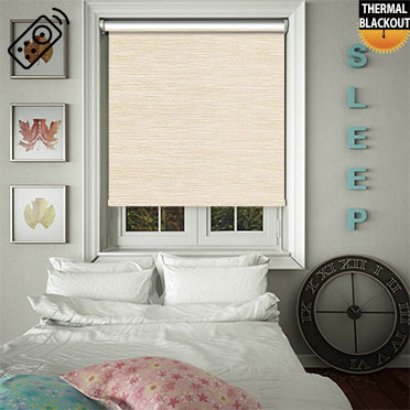 Essence Angora Motorised Roller Blind