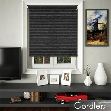 Glitter Stripe Black