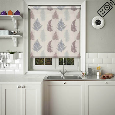 Grove Grape Motorised Roller Blind