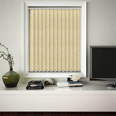 Vertical Blinds Illusion Praline
