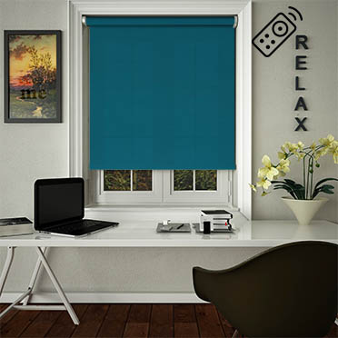 Madre Ocean Motorised Roller Blind