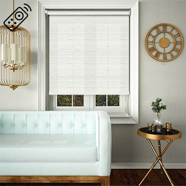 Manasulu Sea Salt Motorised Roller Blind