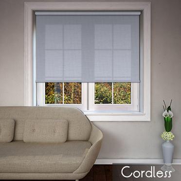 Origin Heather Cordless Spring Loaded Roller Blinds