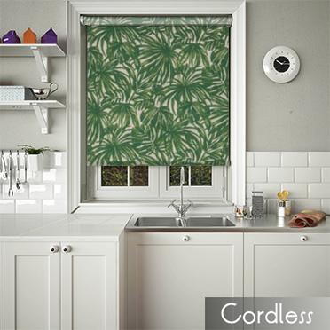 Palm Verde Cordless Spring Loaded Roller Blinds